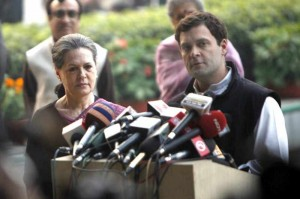 Rahul and Sonia