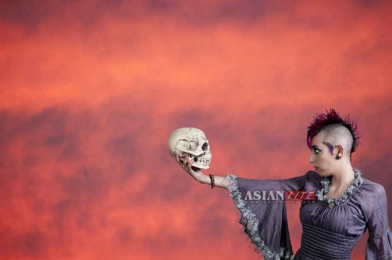 Hamlet Skull Shakespeare mental