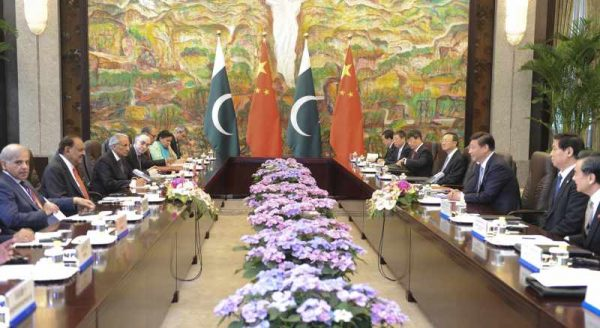 Pakistani delegation in China