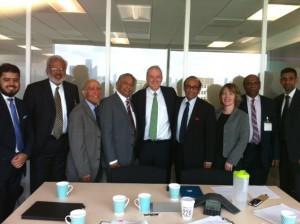 BAPIO and BIDA delegation with Sir Bruce Keogh, Medical Director of NHS for England