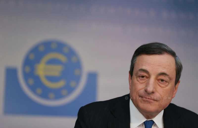 European Central Bank (ECB)President Mario Draghi
