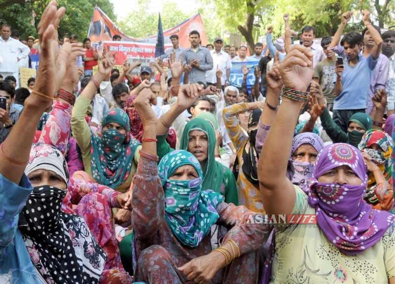 rape protest