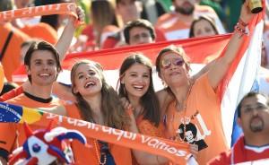 dutch fans world cup