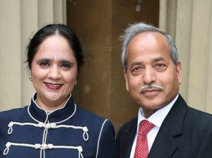 Asha Khemka and husband Shankar