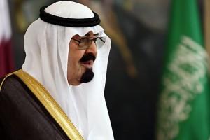 Saudi King Abdullah Bin Abdul Azi saud