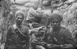 indian army WWWI