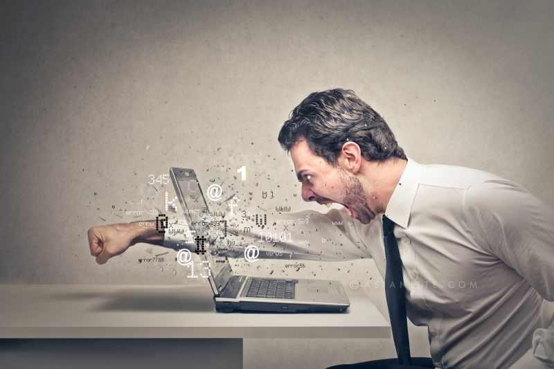 Angry Computer Slow