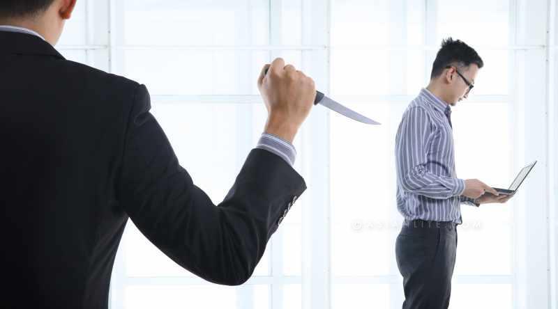 HR back Stabbing