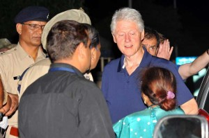 bill clinton in india
