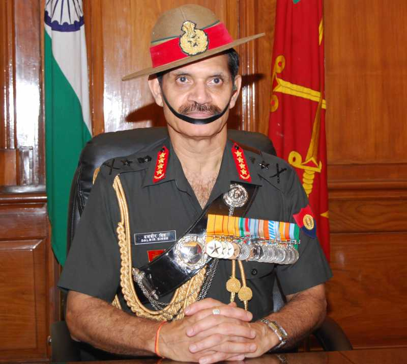 General Dalbir Singh took over as the Chief of the Army Staff of the Indian Army, in New Delhi