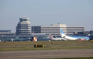 View of Manchester Airport