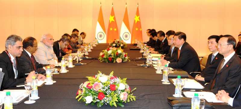 Modi 1 - India China