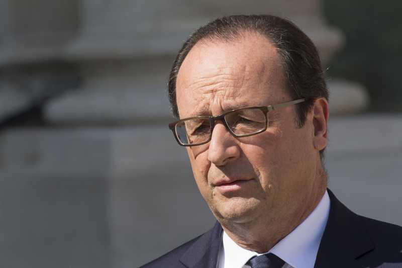 French President Francois Hollande  (file)