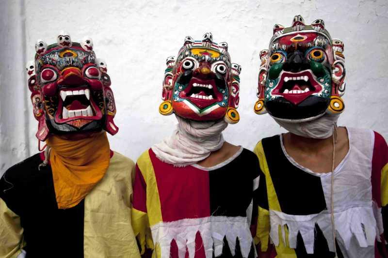 NEPAL-KATHMANDU-FESTIVAL