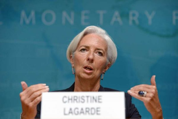 - International Monetary Fund(IMF) Managing Director Christine Lagarde