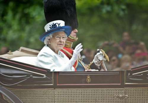 BRITAIN-ROYALS-TROOPING THE COLOUR