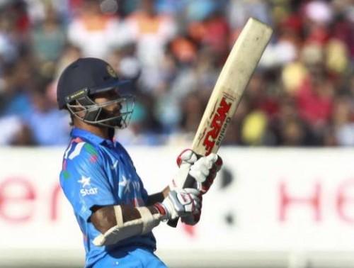 Indian batsman Shikhar Dhawan.