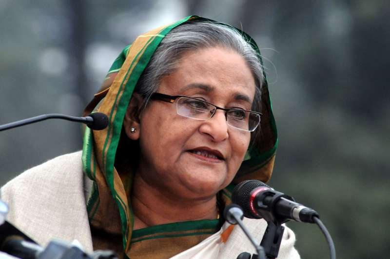 BANGLADESH-DHAKA-PM-PRESS CONFERENCE