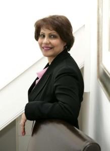 Gita Patel, one of the former judges