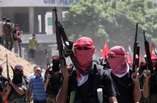 MIDEAST-GAZA-MILITARY-PARADE