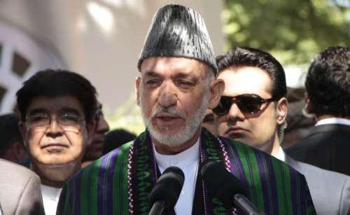 (WORLD SECTION) AFGHANISTAN-KABUL-PRESIDENT-EID AL-FITR PRAYER