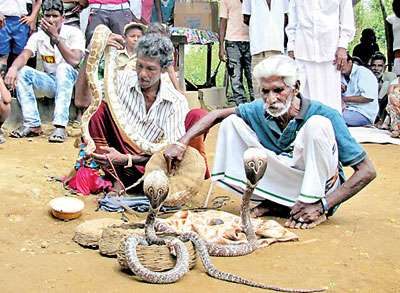 Sri Lankan Telugus during a festival