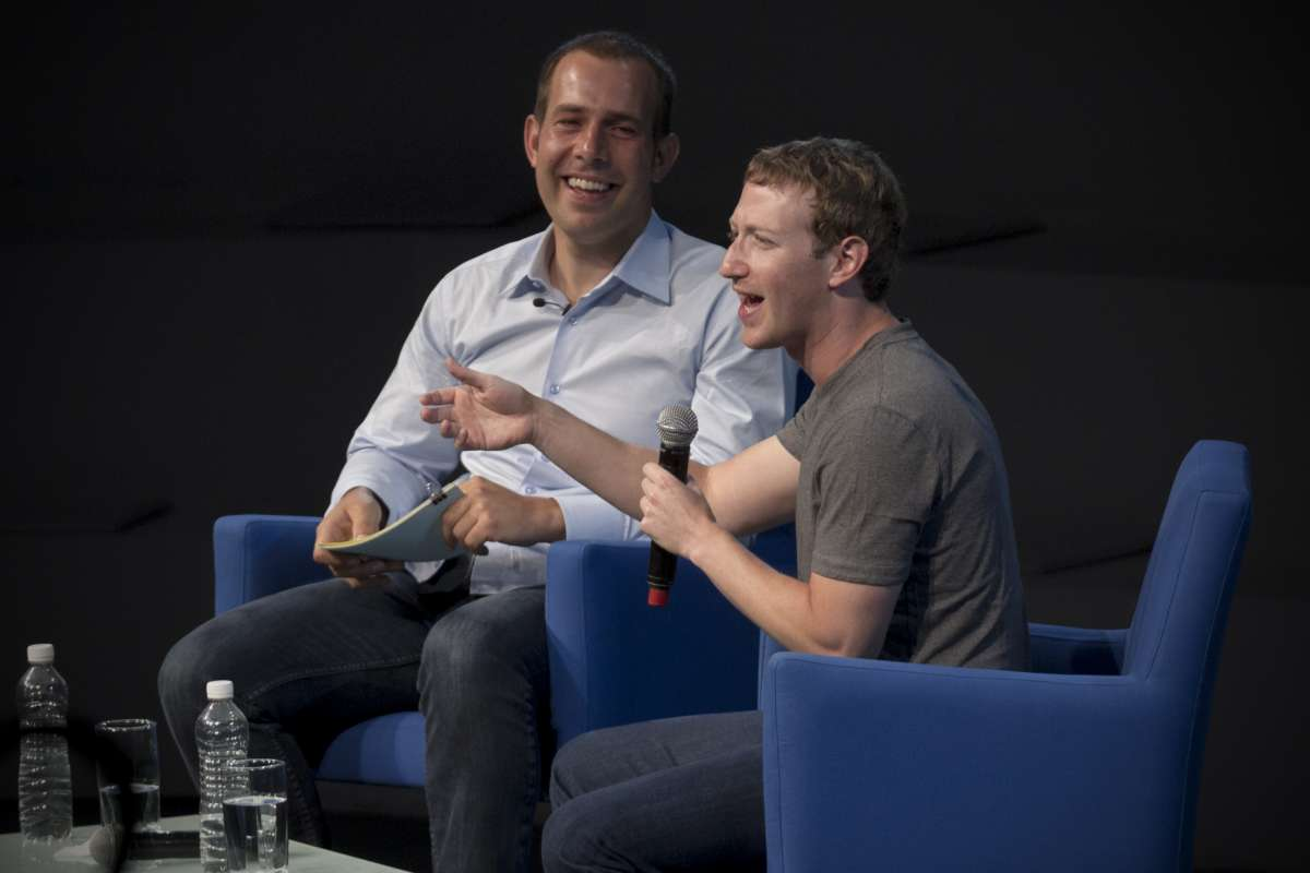 American computer programmer and Internet entrepreneur, Mark Zuckerberg.FILE PHOTO