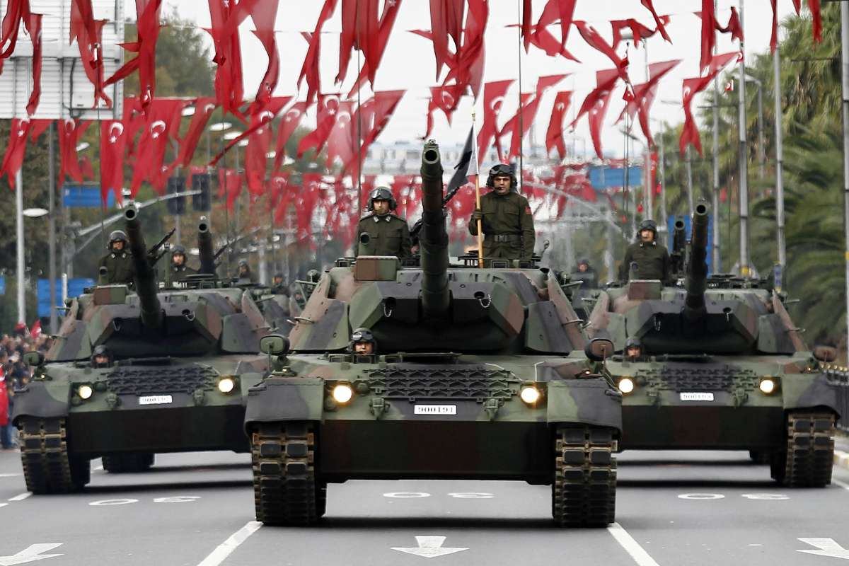 TURKEY-ISTANBUL-REPUBLIC DAY-PARADE
