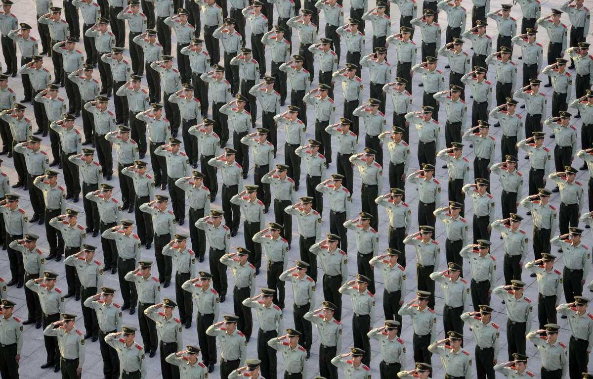#CHINA-NATIONAL DAY-FLAG-RAISING CEREMONY (CN)