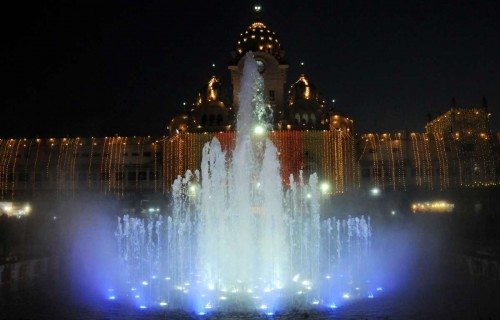 Amritsar: A view of the newly inaugurated Golden Temple plaza in Amritsar.