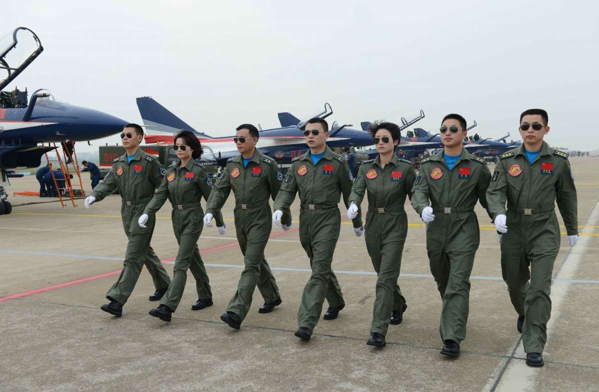 #CHINA-ZHUHAI-AIRSHOW-BAYI-AEROBATIC TEAM(CN)