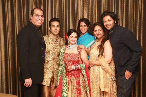 Mumbai: Actor Ali Fazal during Pulkit Samrat and Shweta`s wedding reception in New Delhi. (Photo: IANS)
