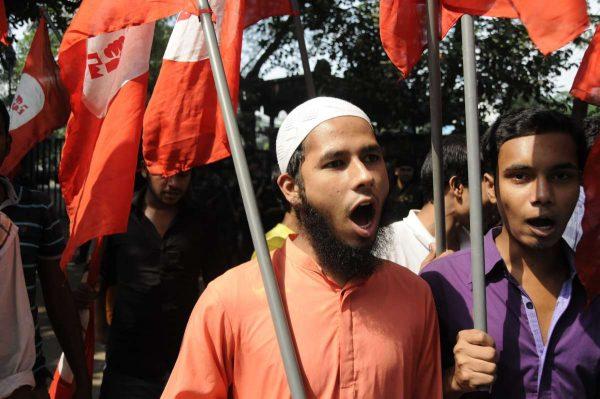(WORLD SECTION) BANGLADESH-DHAKA-DEMONSTRATION-DEATH SENTENCE