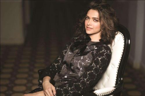 Deepika Padukone during a photoshoot in Mumbai