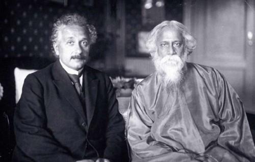 Einstein with Tagore