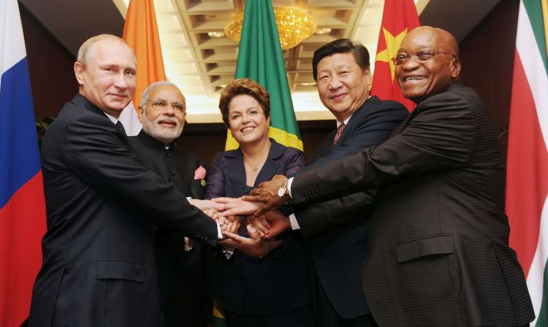BRICS leaders (File)