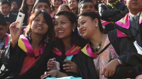 NEPAL-KATHMANDU-CONVOCATION CEREMONY