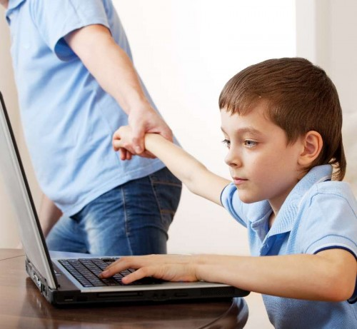 cyber computer child children