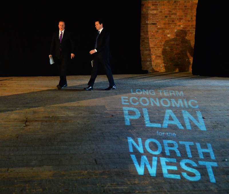 PM and Chancellor begin Tour of the North West to promote the long term economic plan