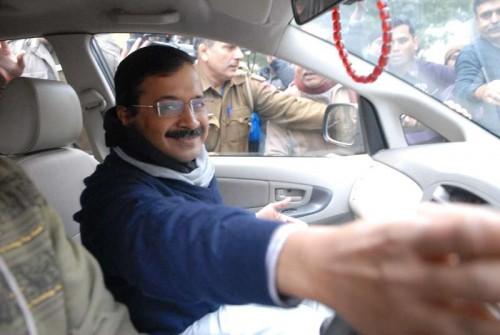 Aam Aadmi Party (AAP) leader Arvind Kejriwal