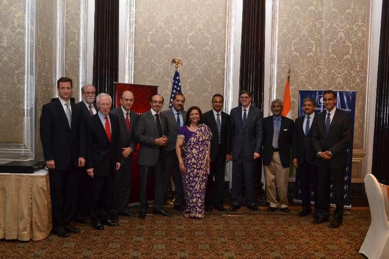 US Treasury Secretary Jacob J. Lew meets top business leaders including Anil Ambani, Dr. Swati Piramal, Adi Godrej and others, ahead of the US-India Economic and Financial Partnership Dialogue in Mumbai  (File)