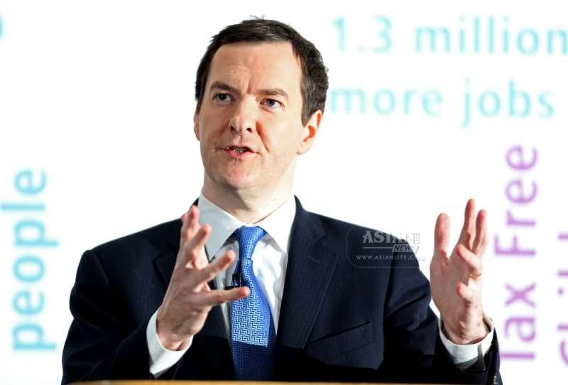 British Chancellor George Osborne