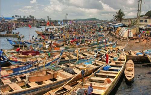 Elmina harbour Ghana