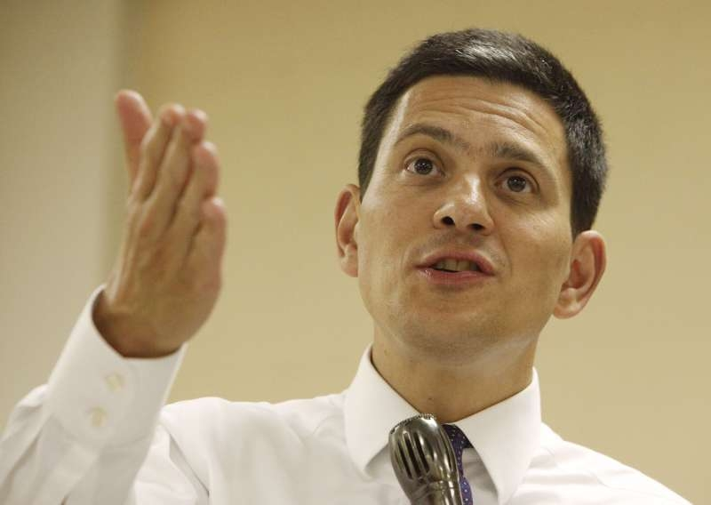 David Miliband, CEO of International Rescue Committee
