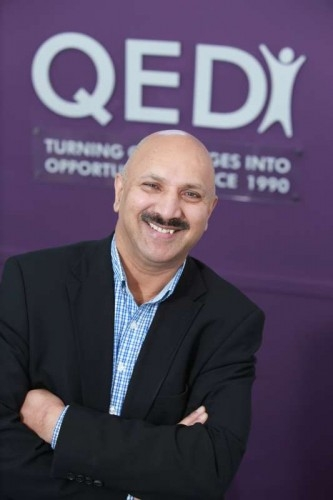 QED Foundation founder and  chief executive Dr Mohammed Ali OBE