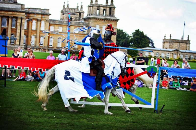 'The Knights of Royal England' on show at Blenheim Palace