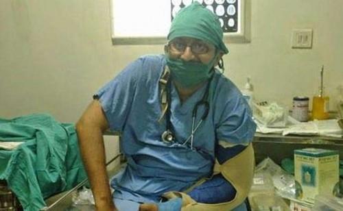 Dr Roshan Radhakrishnan      Photo Credit: NDTV