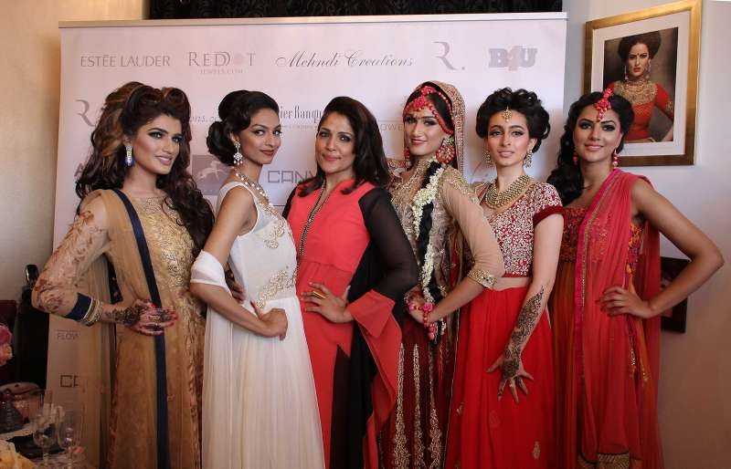 Roshni Ladwa during the launch event of her Roshni Hair and Makeup Training School Studio at Harrow