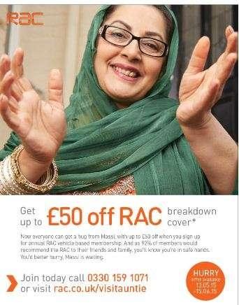 RAC Advert