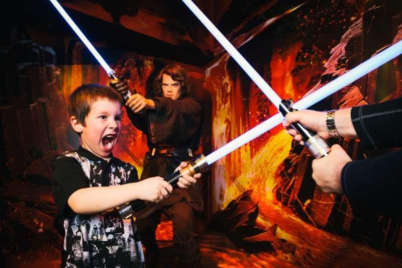 Star Wars  show at Madam Tussauds